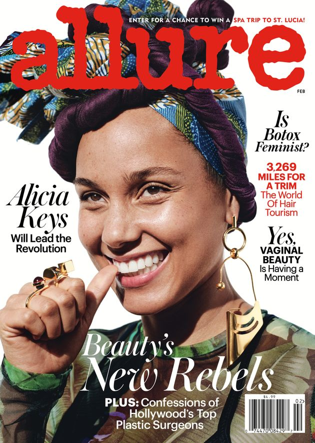 Alicia Keys Just Wore Makeup For The First Time Since Last