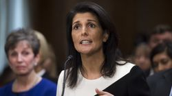 Nikki Haley Breaks With Trump On Russia And Muslim