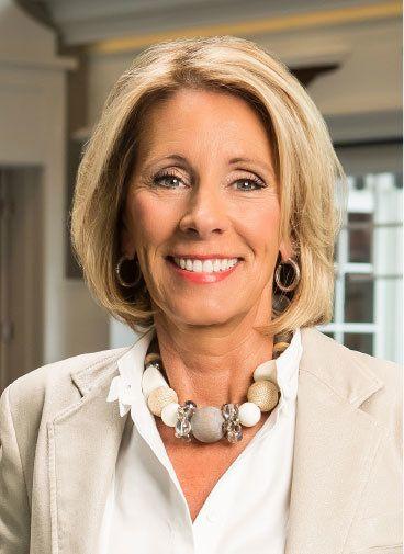 Betsy Devos - Secretary of Education, Nominee