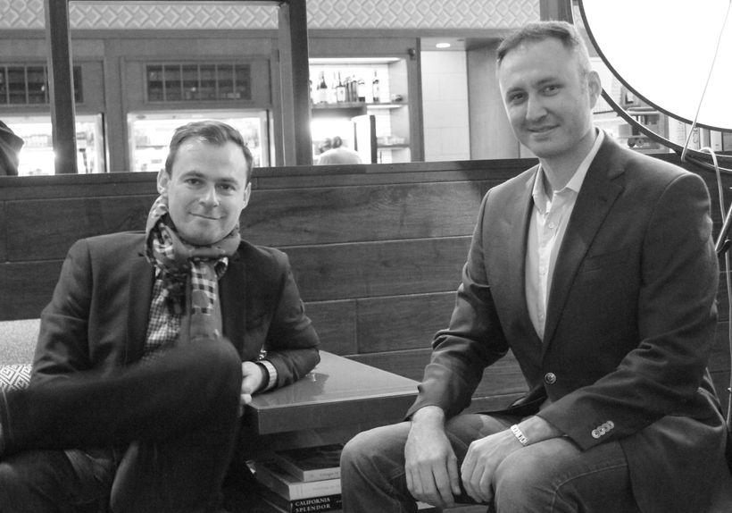 VERITAMO co-founders Vadim Slavin (left) and Yuri Rabinovich (right)