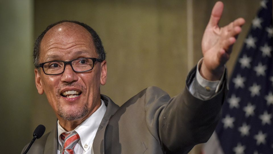 Tom Perez, outgoing U.S. labor secretary and the former head of the Justice Department's civil rights division, has been all