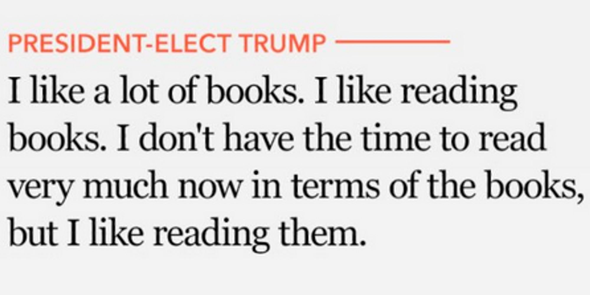 donald trump clearly likes reading books if they re about him donald trump clearly likes reading books if they re about him the huffington post