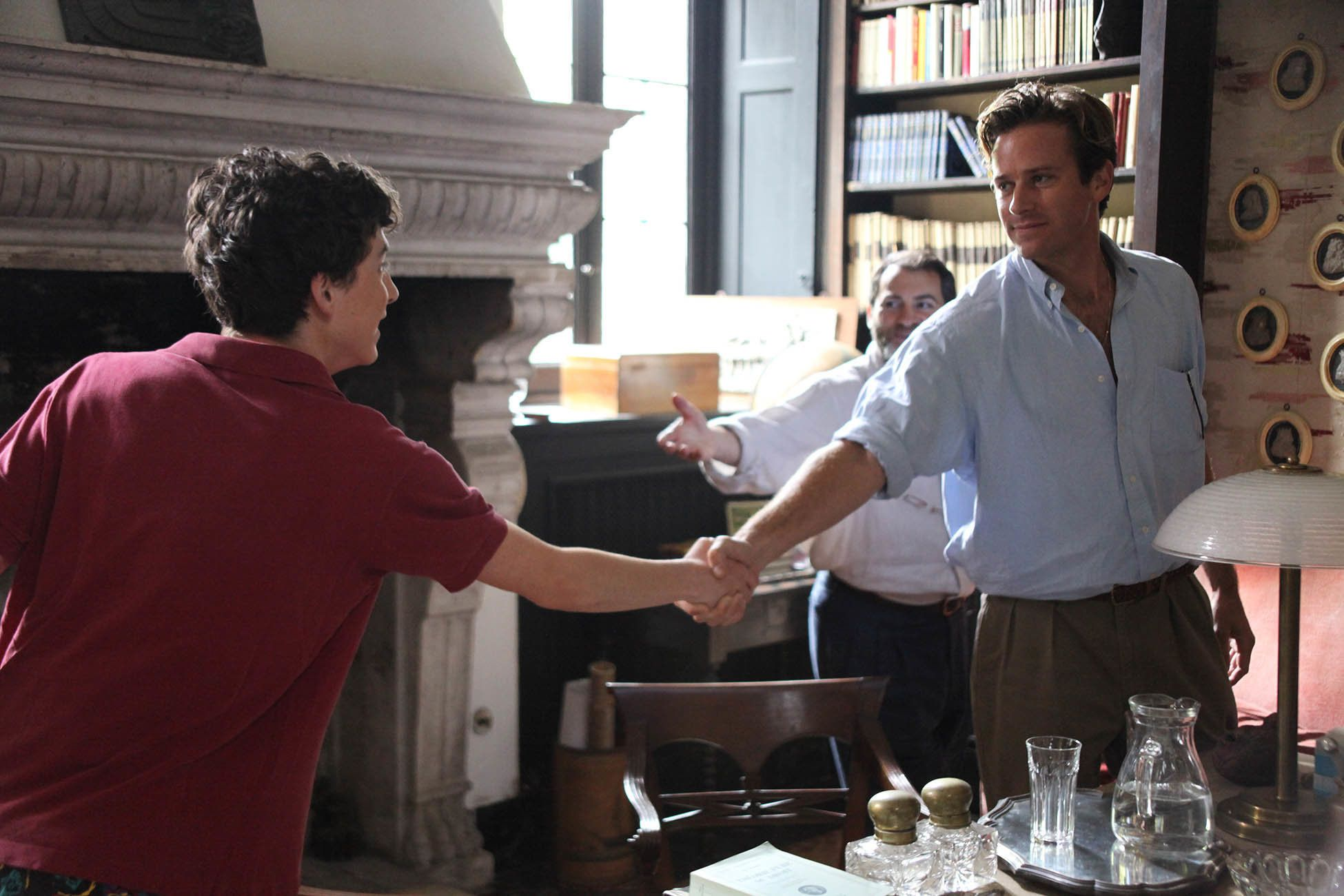 "Luca Guadagnino's movies ooze sensuality, so expect a burning flame of desire at the core of ""Call Me By Your Name."" The ""I A"