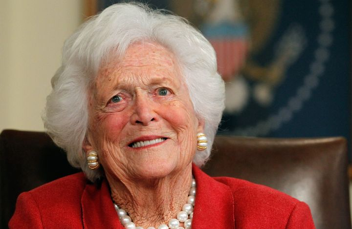 Former first lady Barbara Bush died at age 92.