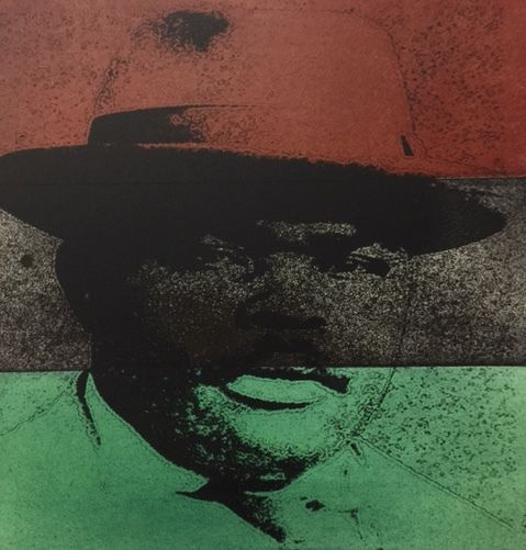 Marcus Mosiah Garvey from Jamaica by artist, Rodney Ewing:  Founded the University Negro Improvement Association and African