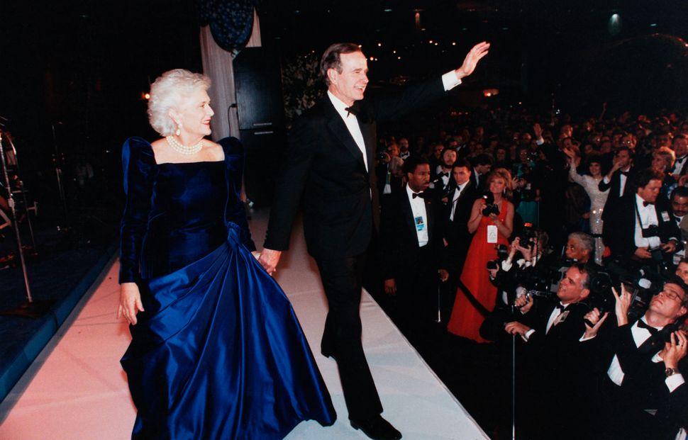 Barbara Bush Inaugural Gown 66284 Movieweb