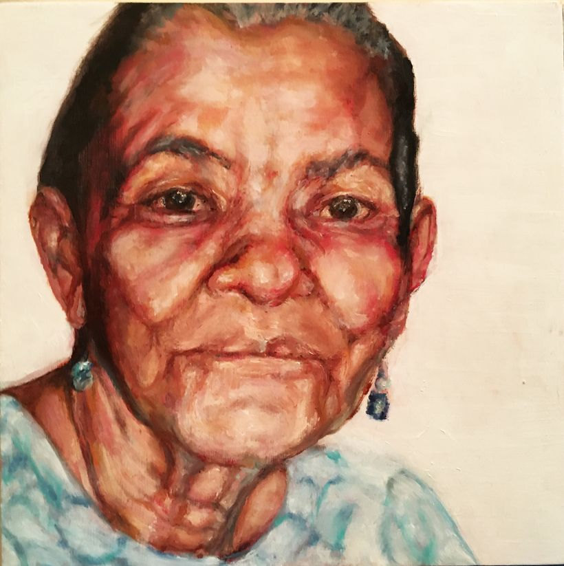 Mami from Puerto Rico by artist, Yvette Deas.