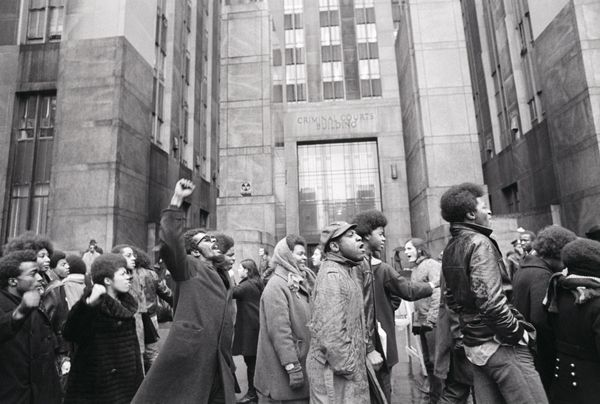 With Newton recently released from jail, Bobby Seale incarcerated and Eldrige still abroad in Algeria, the movement's l