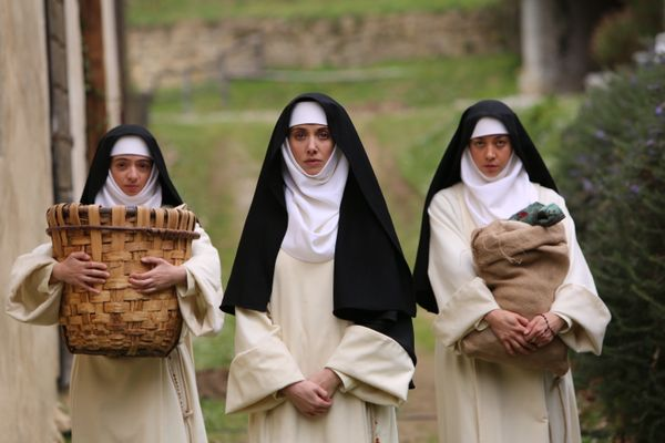 "Sundance programmed ""The Little Hours"" in its Midnight section, which tends to house the festival's weird genre movies. This"