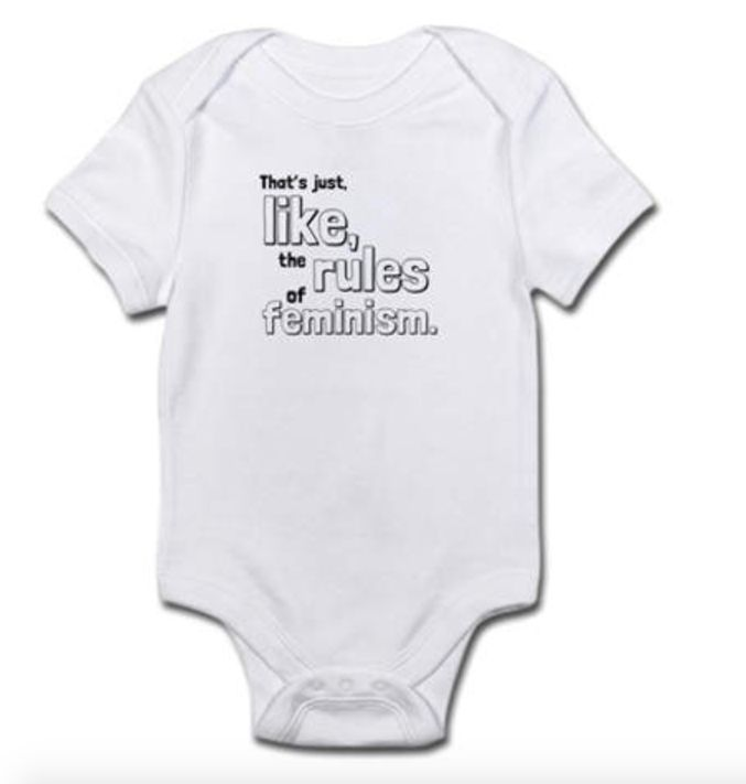 22321293d 37 Feminist Onesies For Baby Girls And Boys