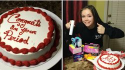 Mum Threw A 'Period Party' For Her 12-Year-Old