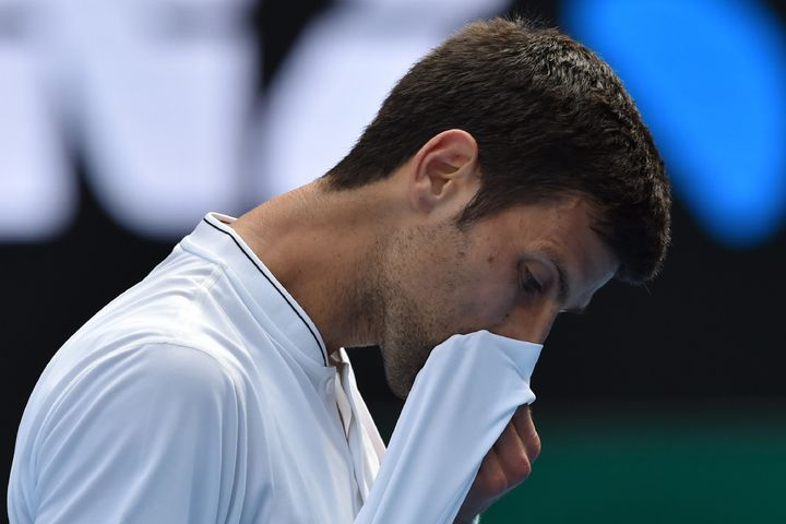 """All the credit to Denis for playing amazing, he deserved to win,"" Djokovic sai."