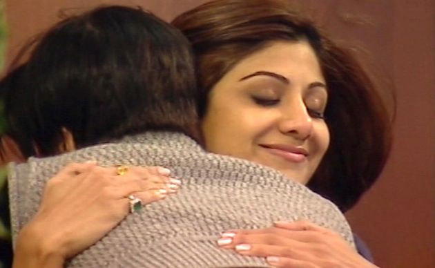 Jade and Shilpa looked to have made amends prior to her