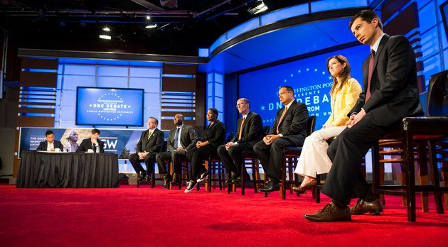 The Huffington Post hosted a debate among seven Democratic National Committee chair candidates on Wednesday.