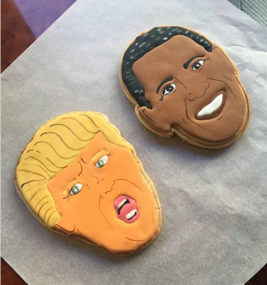 America, in two cookies.