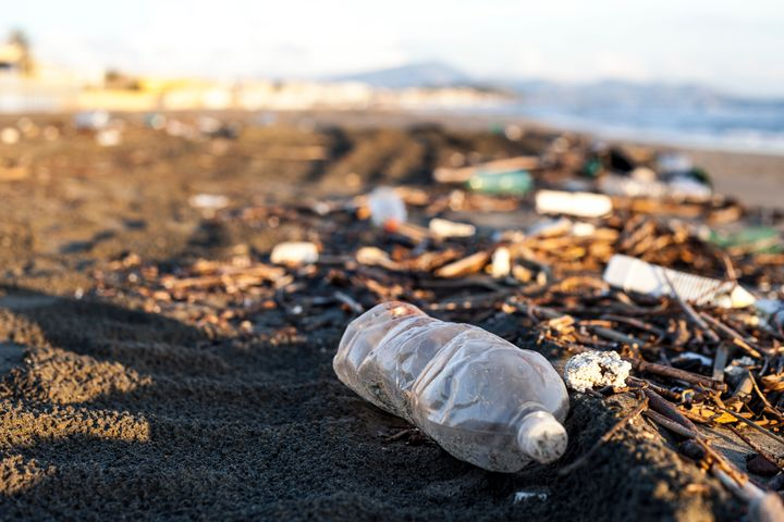 Each year, 8 million tons of plastic wind up in the ocean. At this rate, by 2050, we'll have more plastic tha