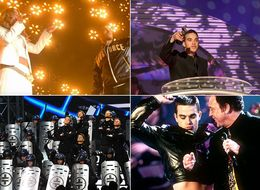 Robbie Williams' 10 Most Memorable Brit Awards Moments