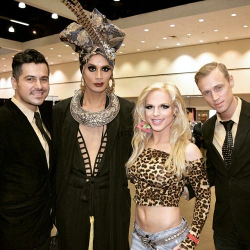 Visual artist Nick San Pedro, Derrick Barry as Britney Spears and Mackenzie Claude (Nebraska Thunderfuck) join <em>RuPaul</em
