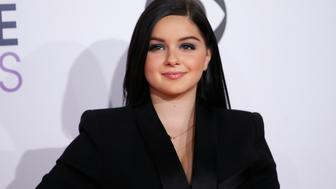 "Actress Ariel Winter, from the ABC sitcom ""Modern Family,"" arrives at the 2015 People's Choice Awards in Los Angeles, California January 7, 2015.   REUTERS/Danny Moloshok (UNITED STATES  - Tags: ENTERTAINMENT)   (PEOPLESCHOICE-ARRIVALS)"