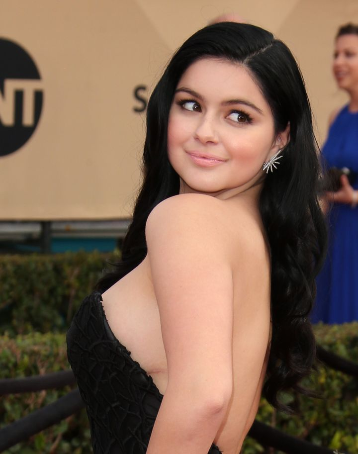 Ariel Winter attends the 22nd Annual Screen Actors Guild Awards.