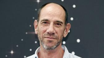 US actor Miguel Ferrer poses during a photocall for the TV show 'NCIS LA' as part of the 54th Monte-Carlo Television Festival on June 10, 2014 in Monaco.  AFP PHOTO / VALERY HACHE        (Photo credit should read VALERY HACHE/AFP/Getty Images)