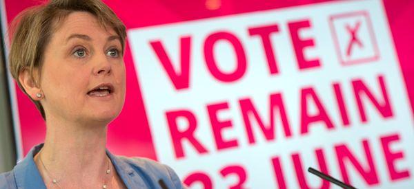 MPs Who Vote Against Article 50 Behaving Like Donald Trump, Warns Yvette Cooper