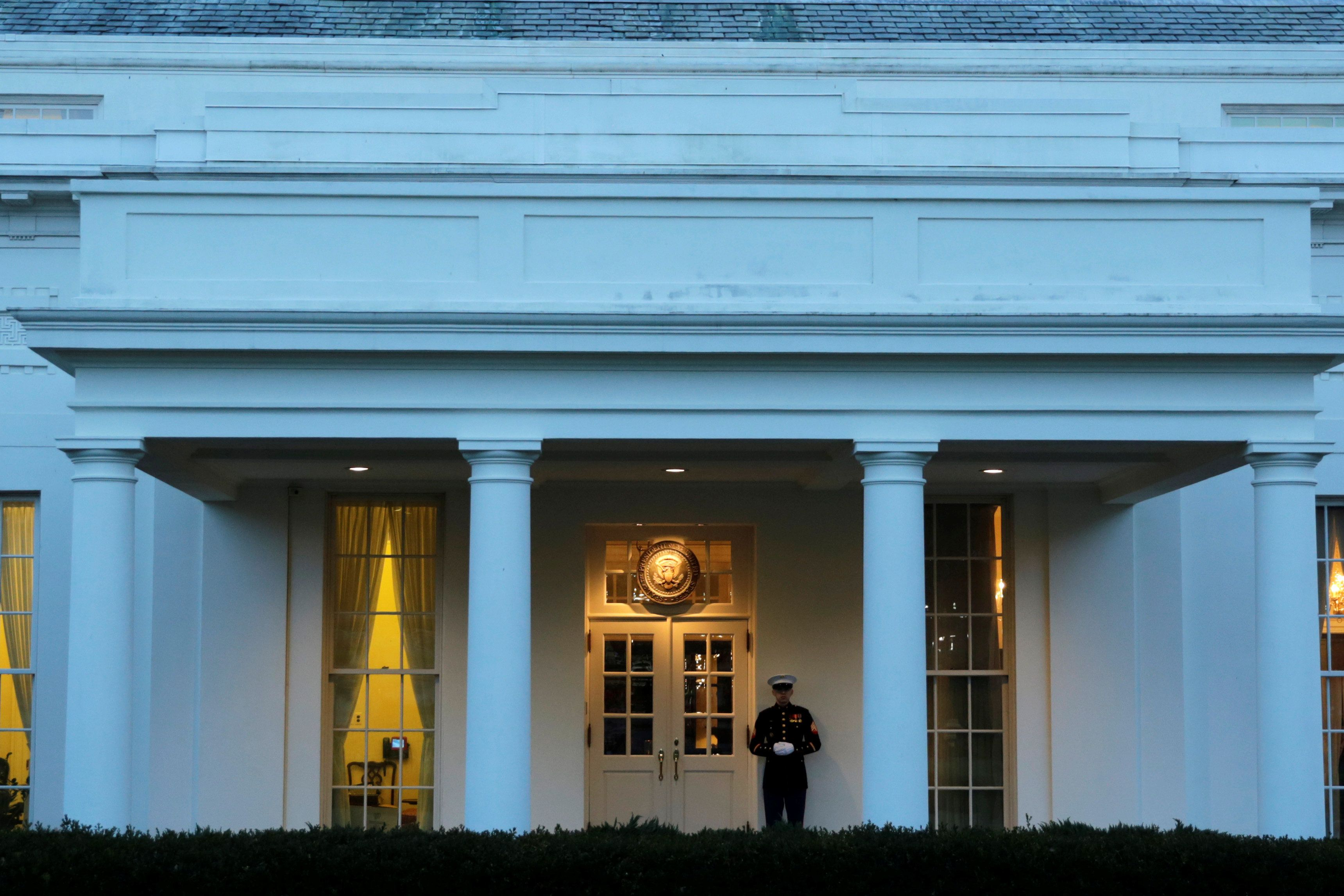 The White House Is A Blank Slate As It Awaits Its Next