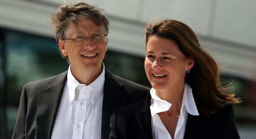 "Bill and Melinda Gates during their visit to the Oslo Opera House in June 2009. (Photo: <a rel=""nofollow"" href=""https://commo"