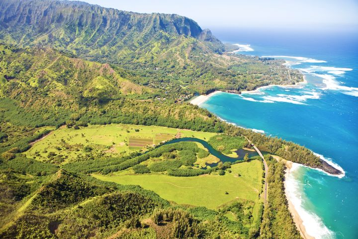 The island of Kauai is known as the Garden Isle because of the thriving nature on its largely undeveloped land.