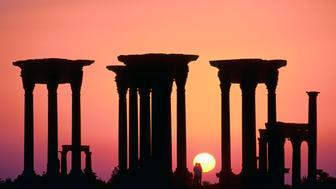 Syria, Palmyra ruins