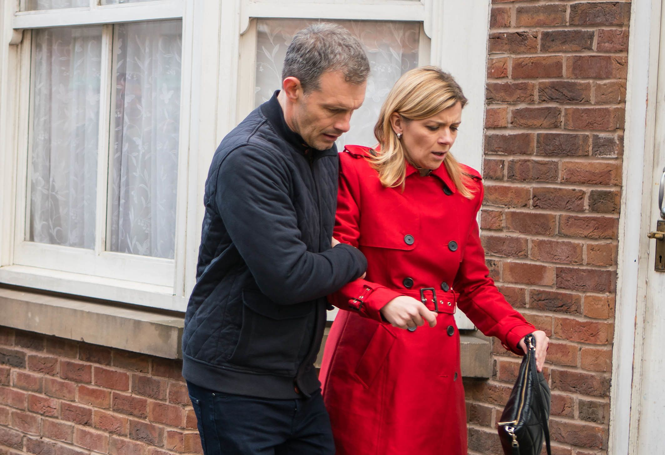 Nick has supported Leanne throughout her