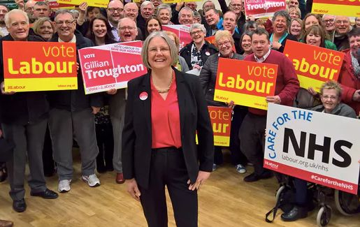 Copeland candidate Gillian
