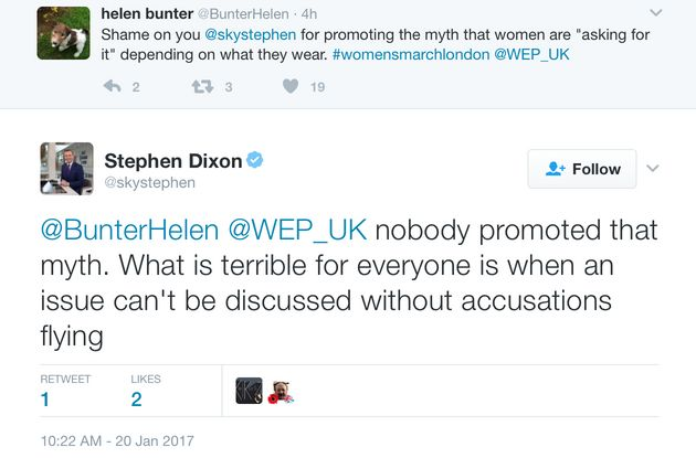Sky News' Stephen Dixon Slammed For Suggesting Women Take 'Personal Responsibility' For Sexual