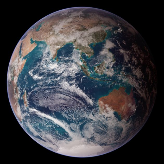 Reddit Is Calling This The 'Official Portrait Of Earth' And We Can See