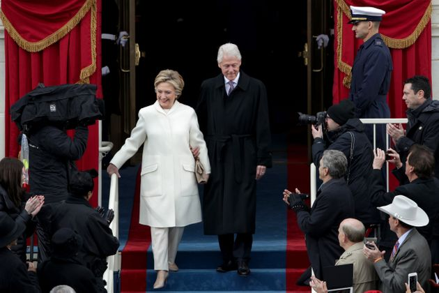 Hillary Clinton Attends Donald Trump's Inauguration 'To Honor Our
