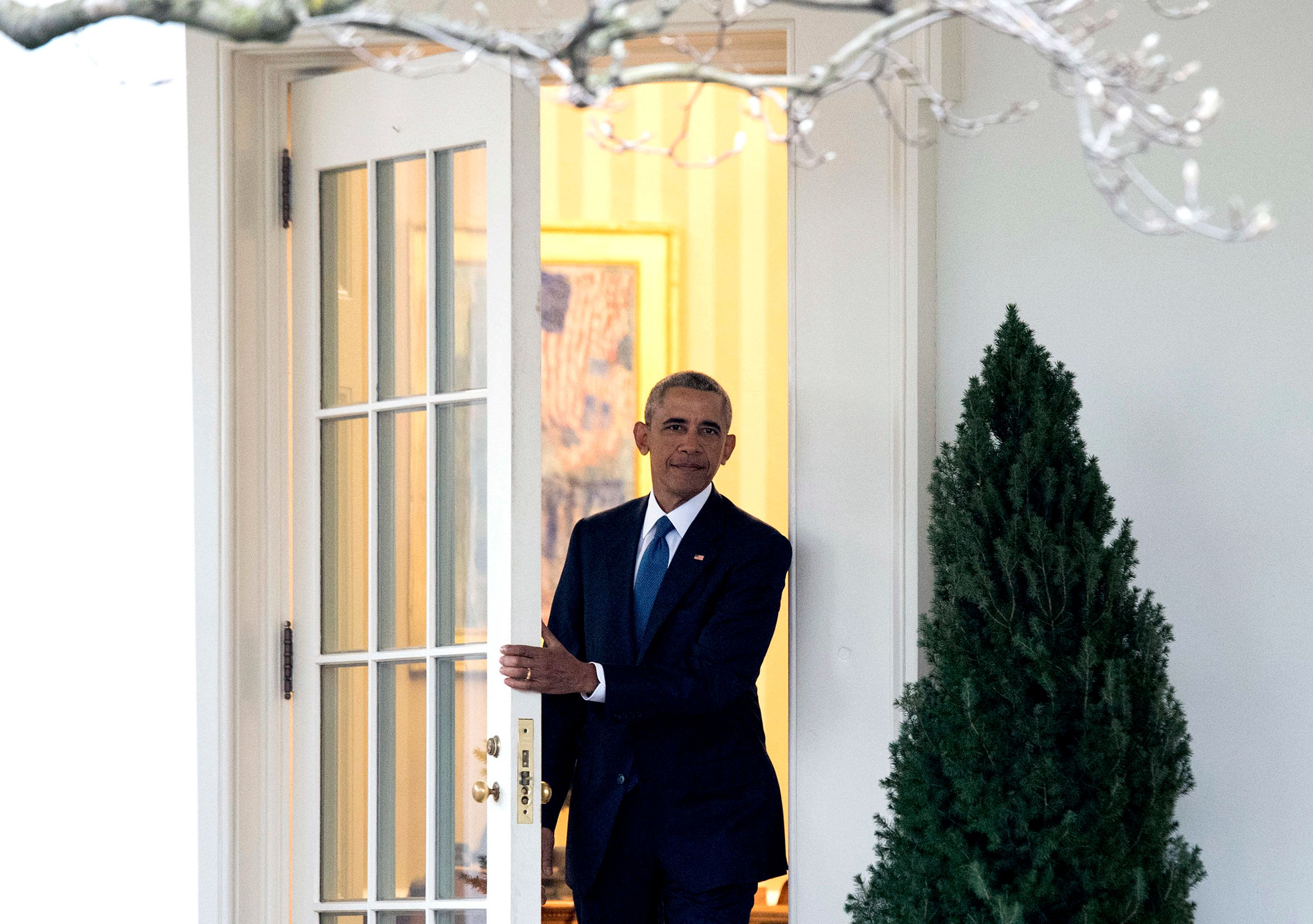 Barack Obama's Last Words To America As President: 'Thank