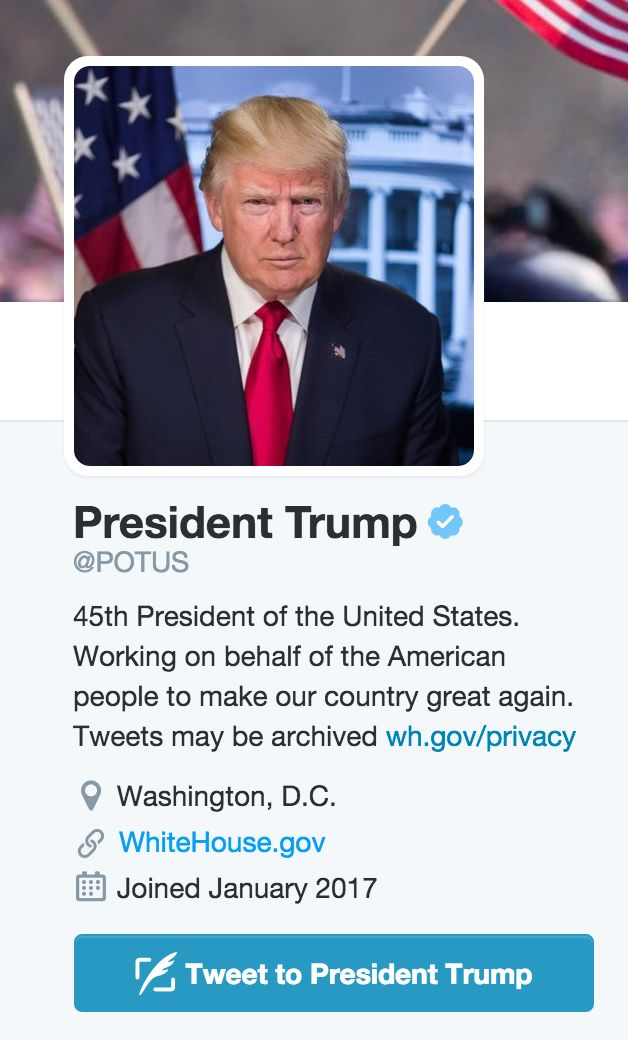 POTUS Twitter Changes Hands For First Time In