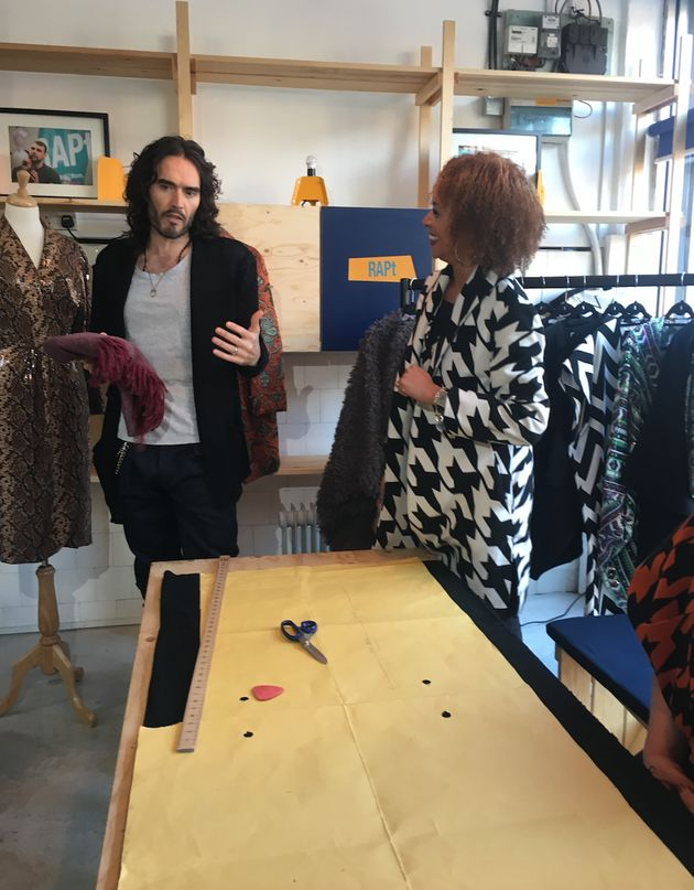 Brand speaks with Vanessa Blyth, who founded Nina Baker Fashion, at RAPt's Hub in