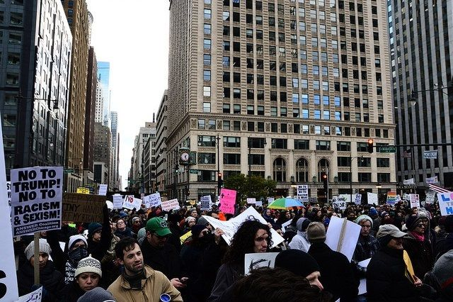 Trump Protest, Chicago, IL November 19 2016