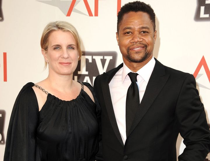 Cuba Gooding Jr. and wife Sara Kapfer in 2011.