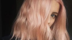 Forget Rose Gold, 'Blorange' Is Your Cool New Hair