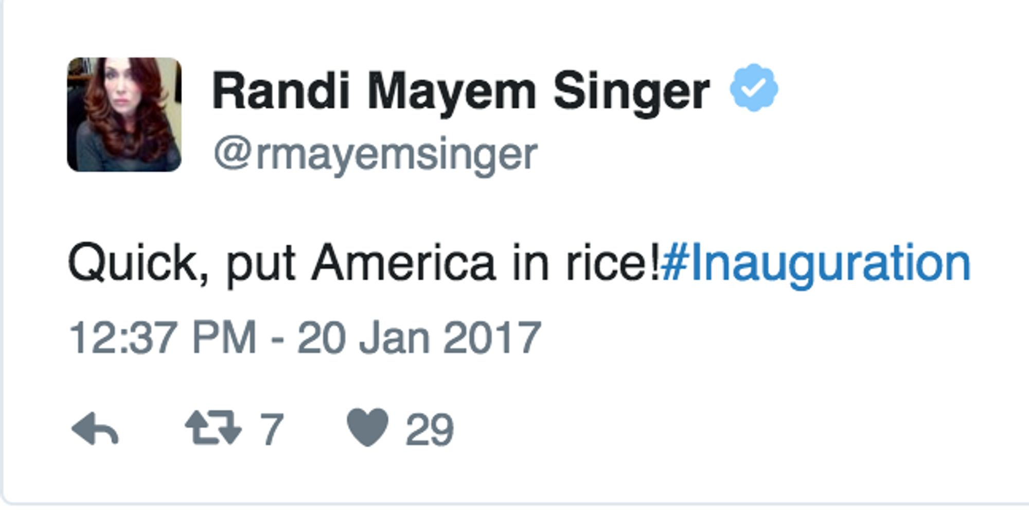 Twitter Finds Humor In Inauguration Day, But Still Kinda Ugly Crys
