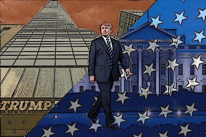 From Trump Tower to the White House.