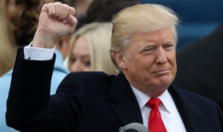 Donald Trump is the 45th president of the United States.