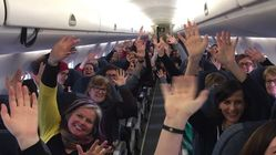 Flights To D.C. Area Are Packed With Women's March