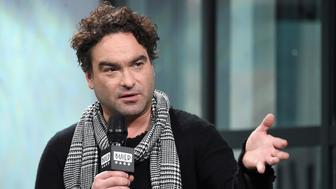 NEW YORK, NY - JANUARY 20:  Johnny Galecki visits Build Series to discuss the movie 'Rings' at Build Studio on January 20, 2017 in New York City.  (Photo by Jamie McCarthy/Getty Images)