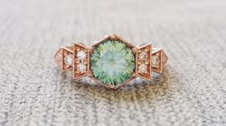 15 Eye-Catching Engagement Rings That Will Have You Green With