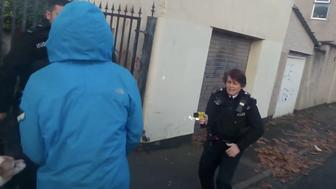 Police are investigating an incident where two officers tased a man who later turned out to be an adviser on race relations
