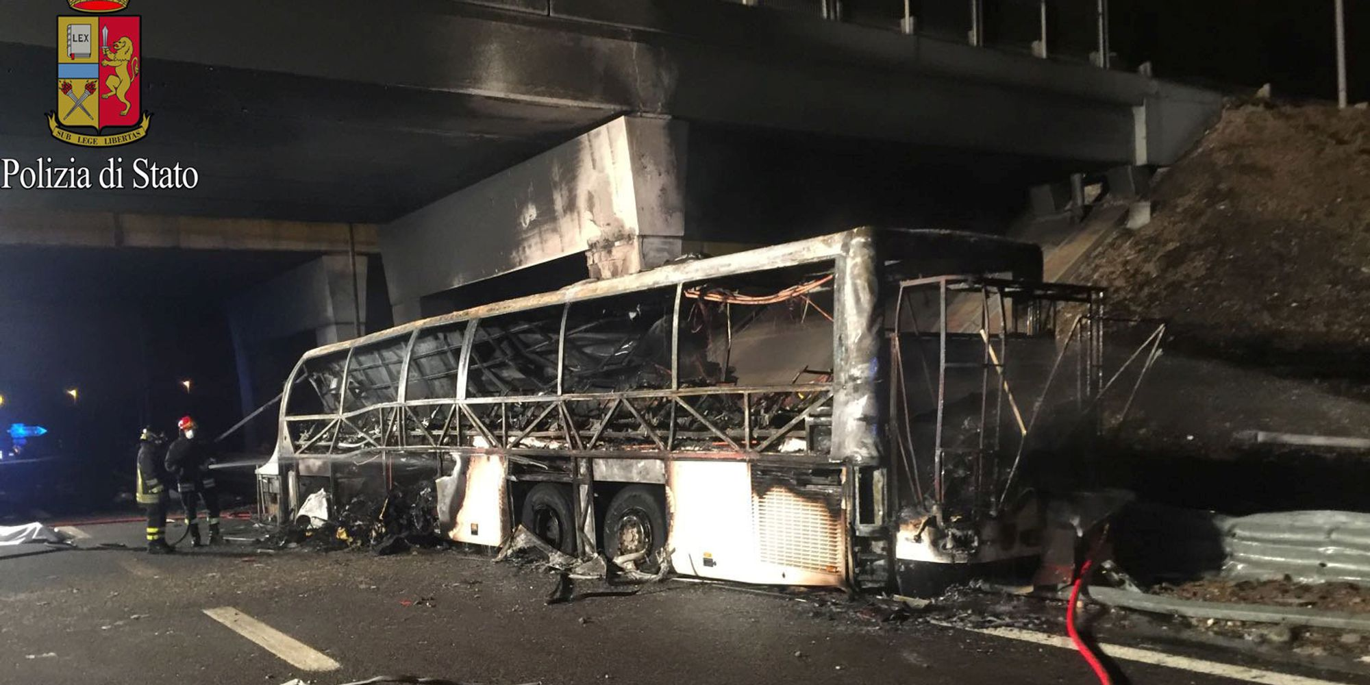 16 Killed After Bus Carrying Students Bursts Into Flames In Italy