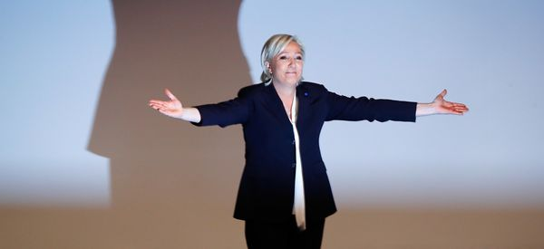 France's Far-Right Leader Calls On Europeans To Follow U.S. And 'Wake Up'